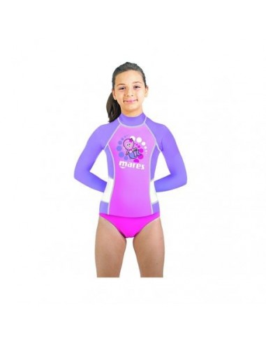 Mares Rash Guard Kid Manga Larga Chica