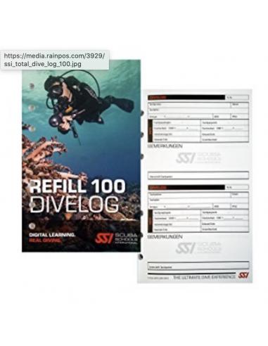 recambio logbook ssi 100 inmersiones